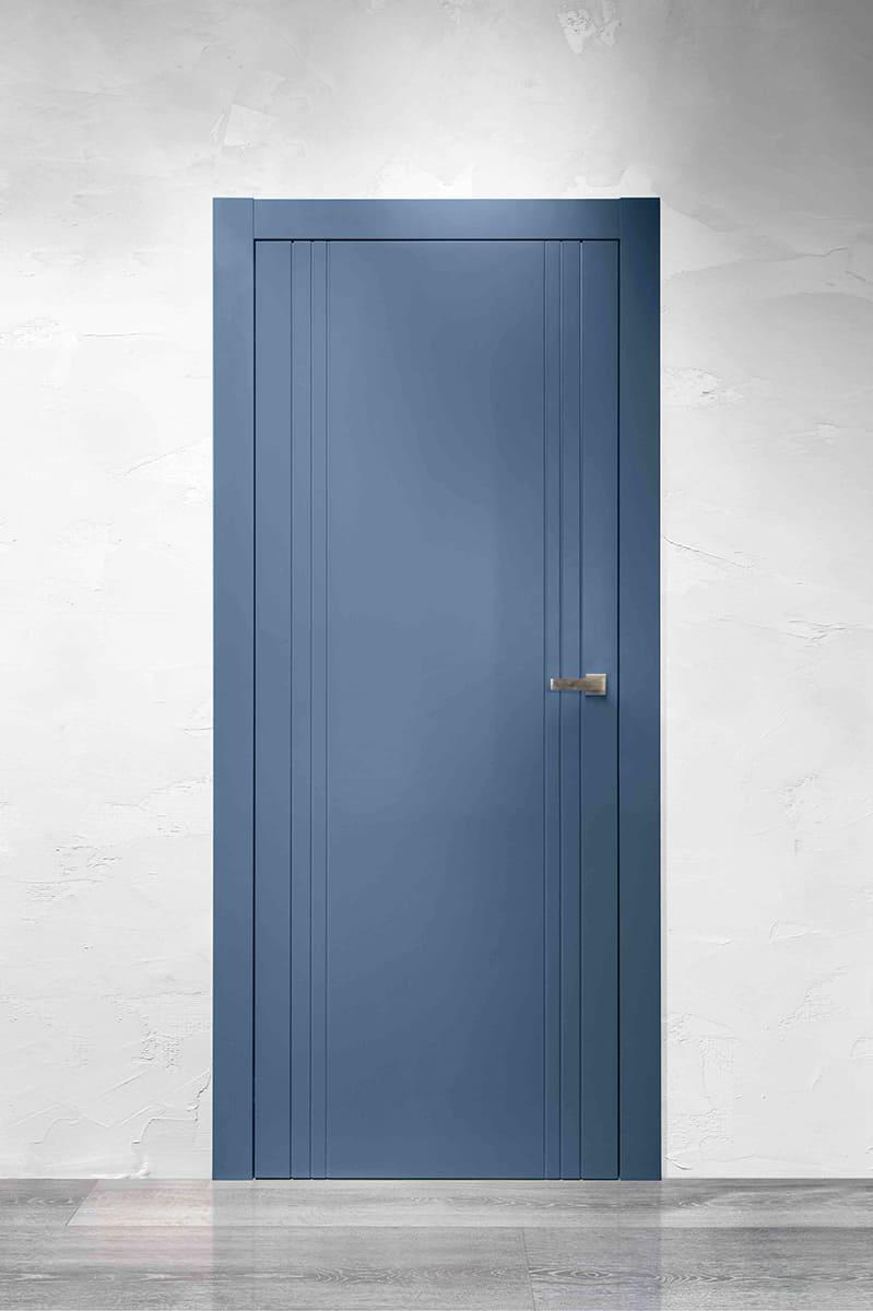 Dveře LINEA 6 - laccato indaco